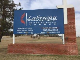 Lakeway UMC Sign