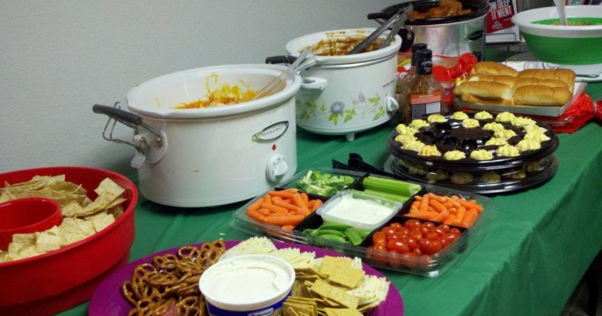 Wednesday night potluck