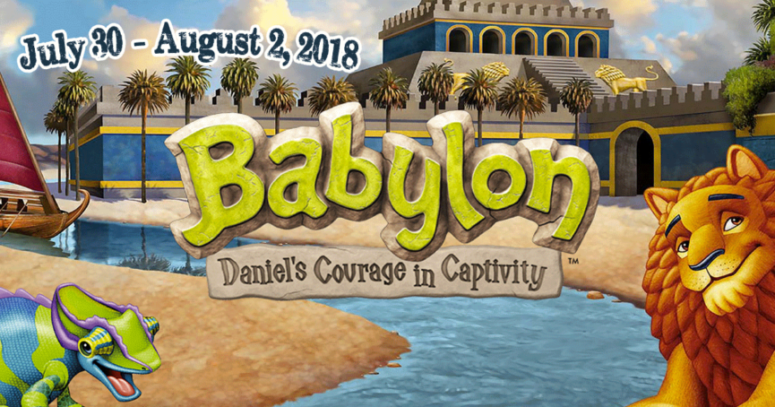 VBS 2018 Daniel's Courage in Captivity